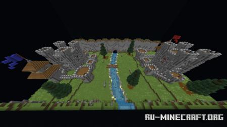 Скачать Ancient PvP v2 (Capture the Flag - Team Kit PvP) для Minecraft PE