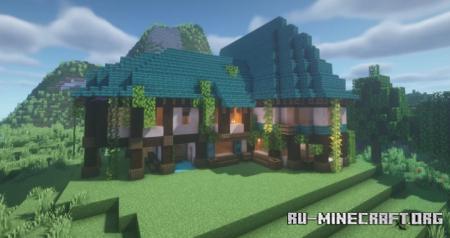 Скачать Fantasy House by Aech_05 для Minecraft