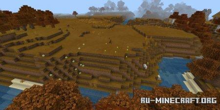 Скачать Y'all, It's Fall для Minecraft PE 1.17