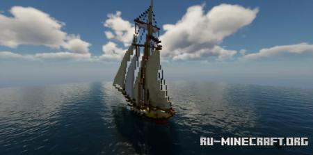Скачать 18th Century Sloop для Minecraft