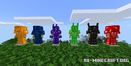 Скачать More Ore Tools V3.5 для Minecraft PE 1.17