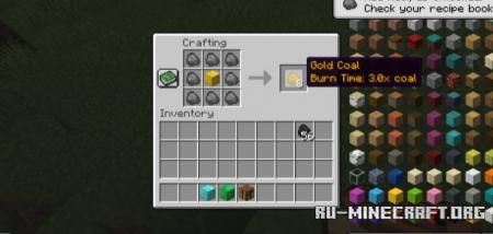 Скачать Iron Coals для Minecraft 1.17.1