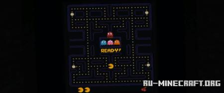 Скачать Pac-Man Minecraft Edition для Minecraft PE