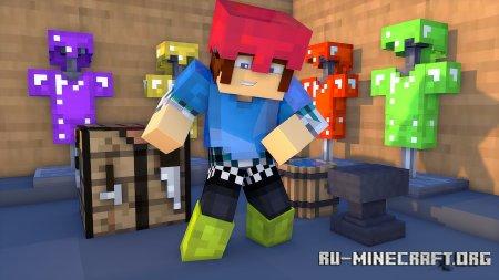 Скачать Colorful Armor для Minecraft 1.17.1