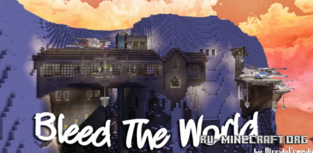 Скачать Mountain Mansion with Star Wars vibes для Minecraft