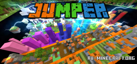 Скачать Jumper by You Koala для Minecraft PE