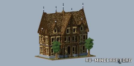 Скачать Wooden House by Reverse transcriptase для Minecraft
