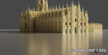 Скачать Duomo di Milano (Milan Cathedral) для Minecraft