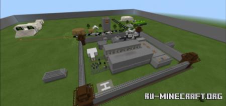 Скачать Prison Map - Cops and Robbers by PopularMMOs Antny The Cool Gamer для Minecraft PE