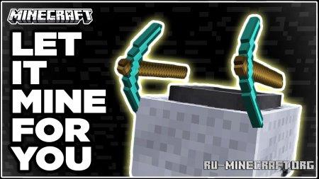 Скачать Gravel Miner для Minecraft 1.17.1