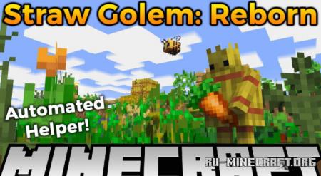 Скачать Straw Golem Reborn для Minecraft 1.17.1