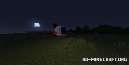 Скачать Демонический глаз из террарии для Minecraft 1.16